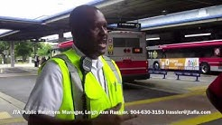 JTA Bus Driver-It's Illegal To Take Pictures On A Bus.