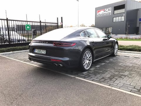 2017 Porsche Panamera S, walk around and interior look
