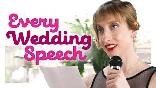 Every Wedding Speech Ever | CH Shorts