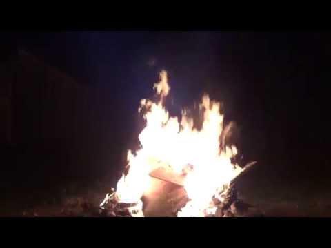 Fire Pit Bonfire In Antrim, NH