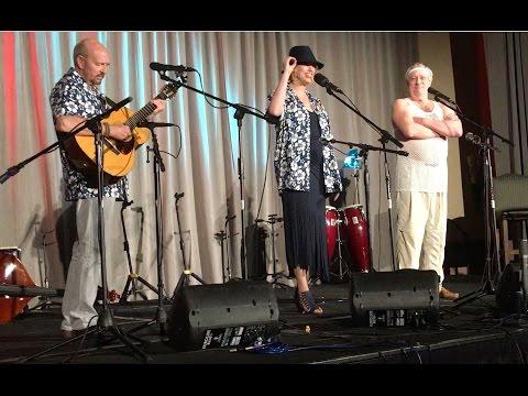 Julie Speyer performs