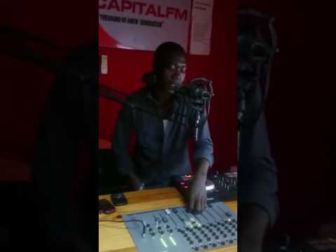 Dj RAINBOW Capital Fm Gambia Africa Bigging up Wood Fyah