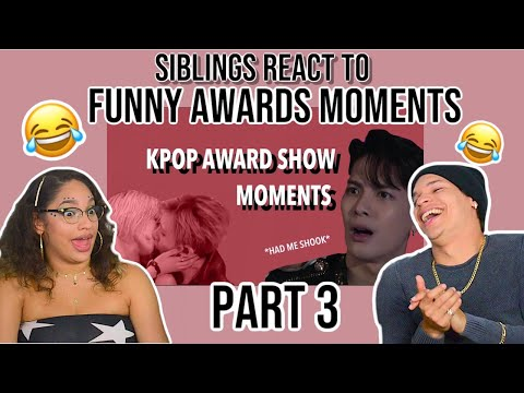 KPOP AWARD SHOW MOMENTS I THINK ABOUT A LOT | REACTION PART 3