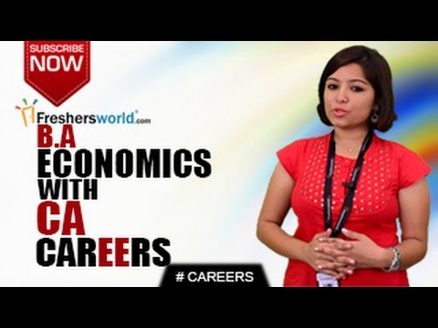 CAREERS IN BA ECONOMICS WITH CA – Graduates, Econometrics,CPT,ICAI,Job Opportunities,Salary Package