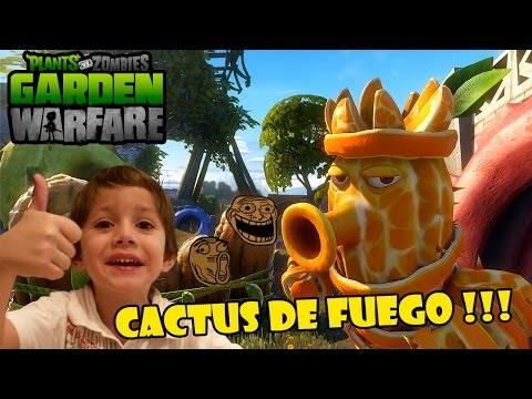 Plants vs Zombies Garden warfare | Quiero ser un cactus!!!