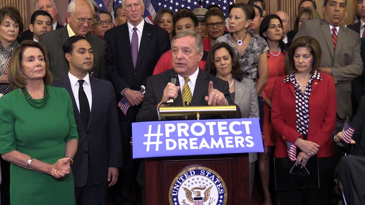 House Democrats hold a press conference to #ProtectDREAMers