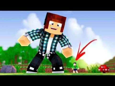 Minecraft : EU SOU UM GIGANTE !!