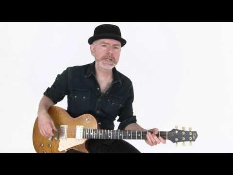Blues Rhythm Guitar Lesson - Shake A Little Breakdown - Jeff McErlain