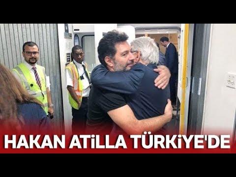 Hakan Atilla İstanbul'da, İşte İlk Görüntüler
