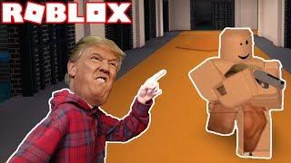 DONALD TRUMP ARRESTS EVERYONE?!?! (Roblox Jailbreak)