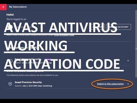AVAST ANTIVIRUS SERIAL KEY Latest Edition 100% Working ...