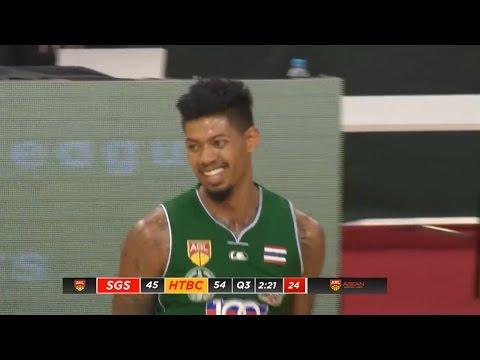 Tyler Lamb 30 Pts Full Highlights vs Singapore Slingers (17.01.16)