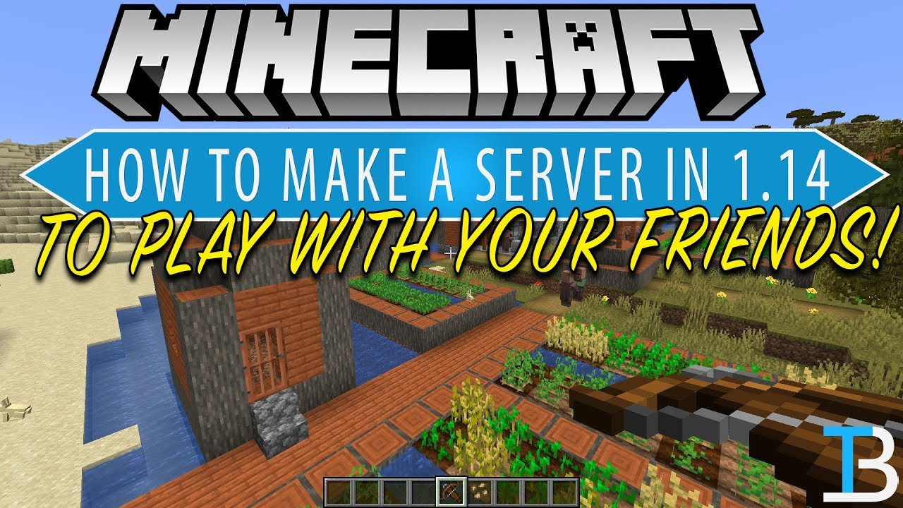 How To Make A Minecraft 188.1884 Server (How To Play Minecraft 188.1884 w/ Your  Friends)