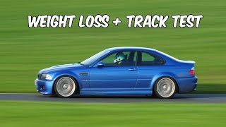 BMW M3 Weight Reduction & Track Test. thumbnail