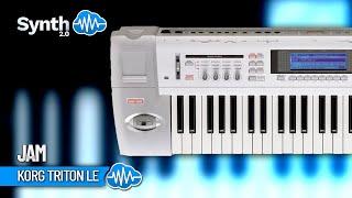 Korg TRITON LE DEMOSTRATION Part 1 by S4K, Space4keys Demo