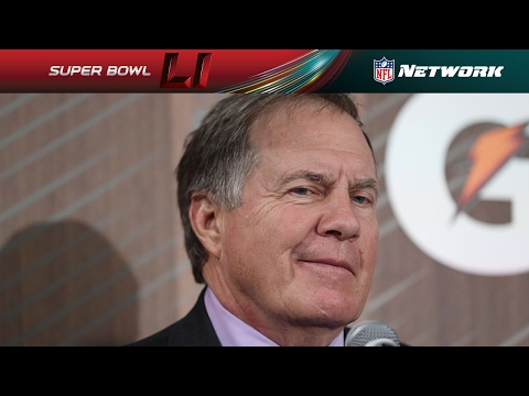 Best of Bill Belichick from Opening Night | NFL Network | Super Bowl LI Opening Night