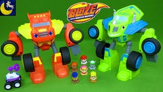 Download Awesome Blaze and Monster Machines Toys - Robot Riders Watts Zeg Paw Patrol Mashems Teenies Mp3 and Videos
