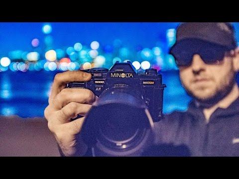 capturing Chicago on Kodak film