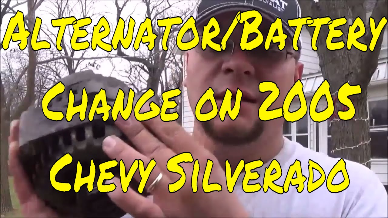 How to Change an Alternator and Battery on a 2005 Chevy Silverado ...