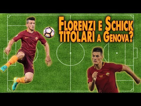 Florenzi e Schick TITOLARI?  Roma Crew ON AIR 2.0   #22