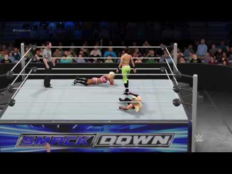 WWE 2k17 Universe Mode episode 3: Blue's Turn