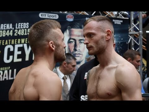 EN ROUTER FOR THE BRITISH? - JJ METCALF v DAMON JONES - OFFICIAL WEIGH-IN VIDEO  / EDGE OF GLORY