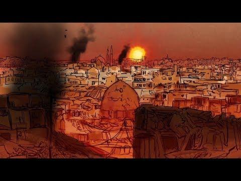 Siria: la mortal huida de Raqa tras los bombardeos de la coalición internacional