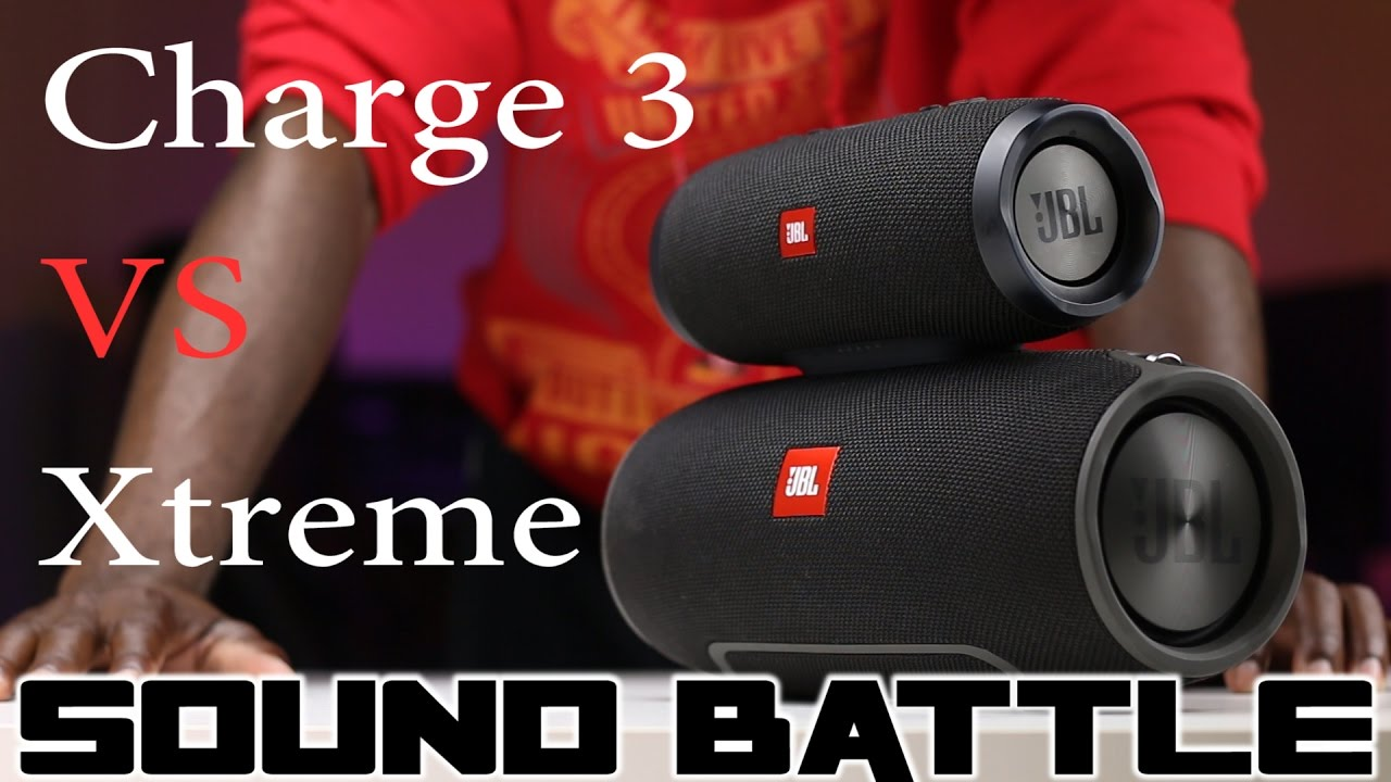 sound battle jbl xtreme vs jbl charge 3 the real soun doovi. Black Bedroom Furniture Sets. Home Design Ideas