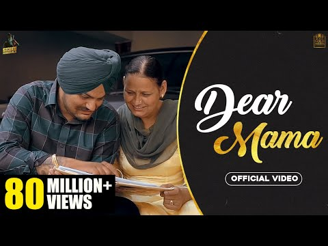 DEAR MAMA (Full Video) Sidhu Moose Wala |Kidd| HunnyPK Films | GoldMedia | Latest Punjabi Songs 2020