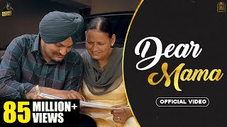 DEAR MAMA (Full Video) Sidhu Moose Wala |Kidd| HunnyPK Films | GoldMedia | Latest Punjabi Songs 2020