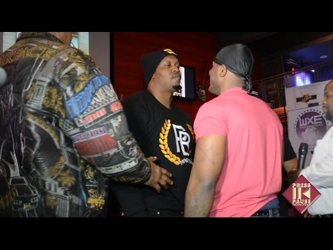 Celebrity Boxing: Tyrone vs. Big Brody Press Conference #2