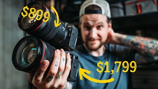 Canon RP vs EOS R - Can you spot the difference?? Best Entry level Mirrorless?