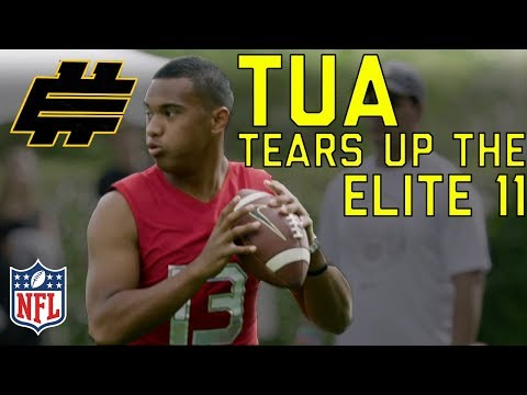 Tua Tagovailoa (Alabama QB) Tears Up the Elite 11 & Battles for the MVP | NFL Highlights