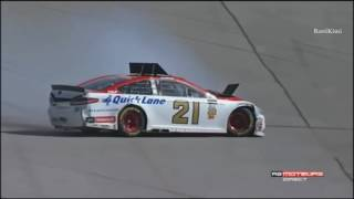 NASCAR Cup Series Talladega 2017 Blaney Crashes