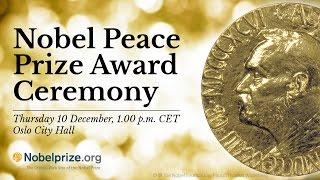 2015 Nobel Peace Prize Ceremony