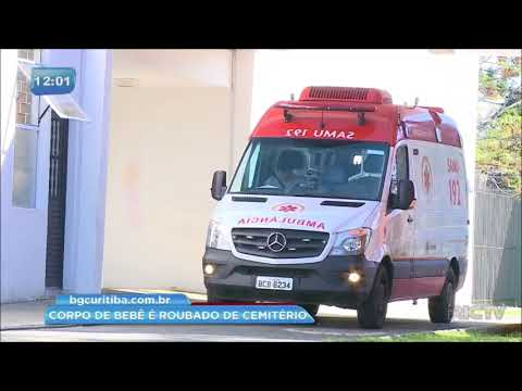 Corpo de bebê é roubado de cemitério em Curitiba