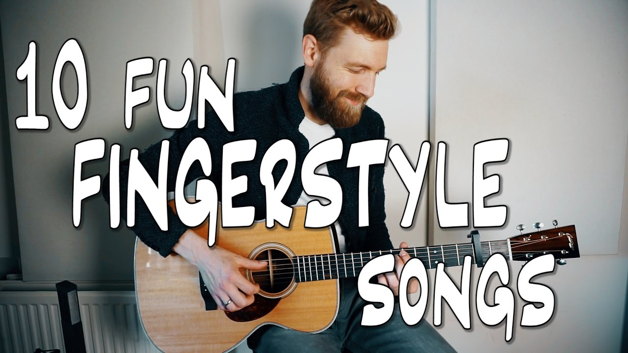 10 fun fingerstyle guitar songs youtube. Black Bedroom Furniture Sets. Home Design Ideas