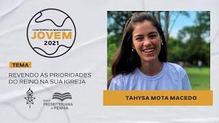 Na sua igreja, com Tahysa Mota | CMJ 2021 - Workshops