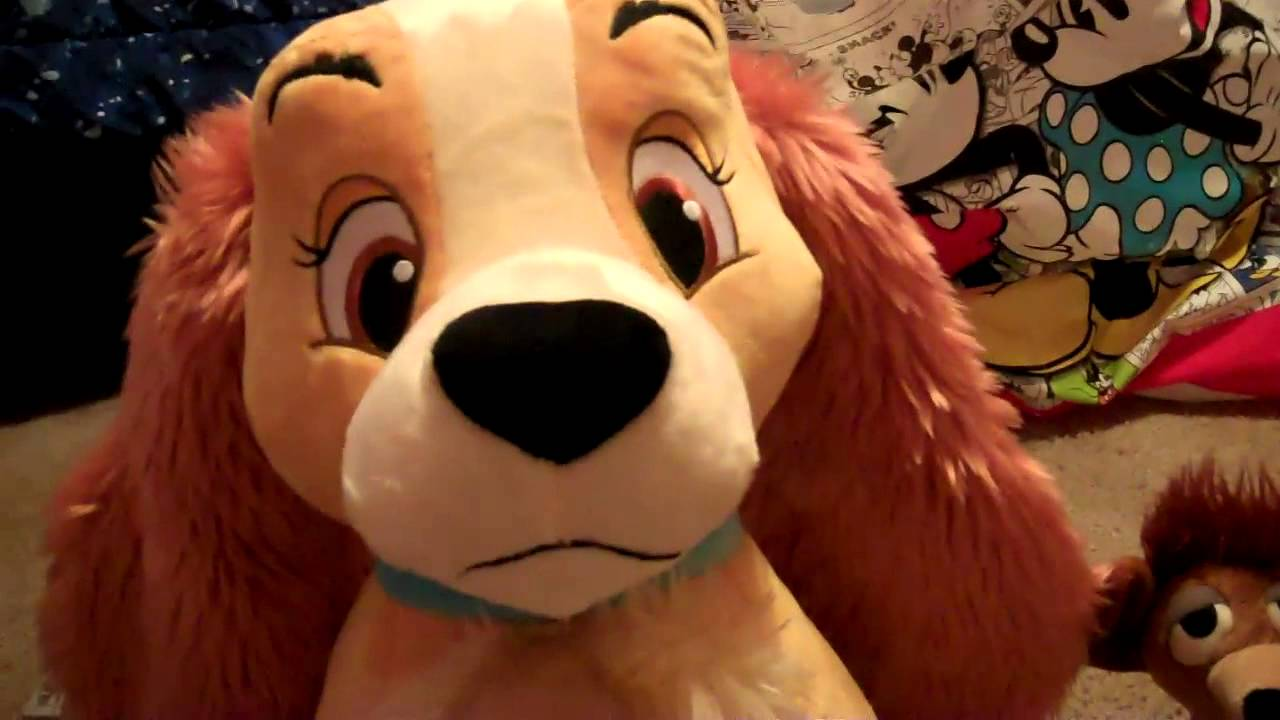 Lady And The Tramp Plush Collection D Youtube