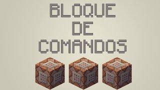 como sacar el bloque de comandos en minecraft 1.7.2