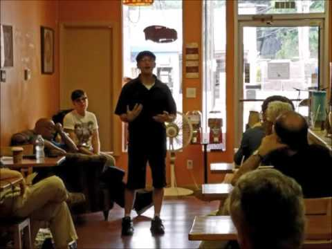 Local Author Zachary Fenell Speaks at Cleveland Area Event (AUDIO)