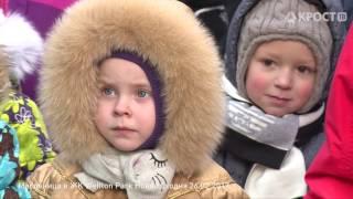 Празднование Широкой Масленицы в жилых комплексах Концерна КРОСТ
