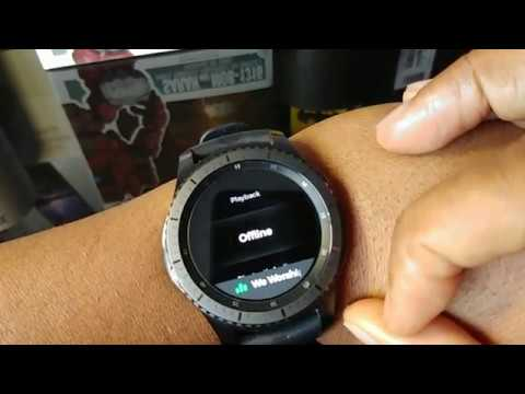 How To Access Your Spotify Playlist On Your Samsung Gear S3 With No Data