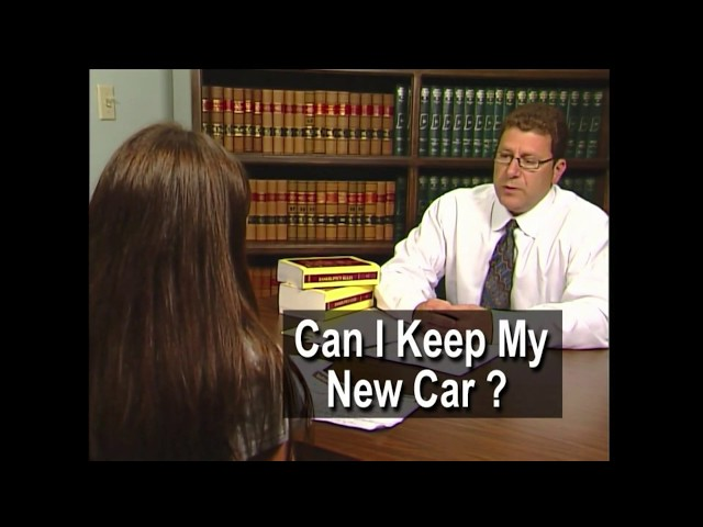 Can I Keep My Car With Bankruptcy? Indianapolis Bankruptcy Attorney Mark S. Zuckerberg