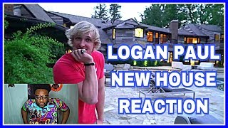 Logan Paul NEW House | REACTION