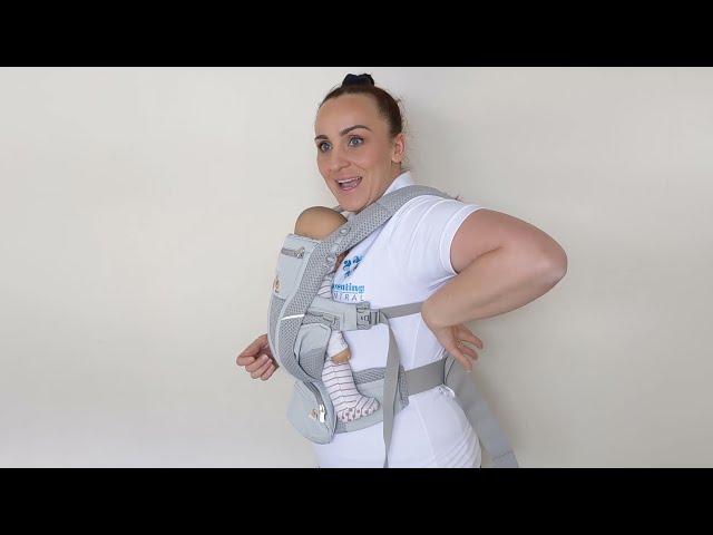 Ergobaby Omni Breeze - How to Adjust for Back or Shoulder Pain