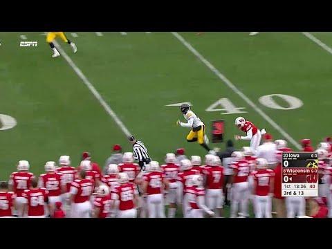 Joshua Jackson Pick Six vs. Wisconsin
