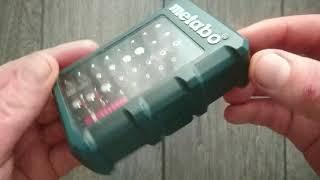 Набор инструментальных насадок Metabo SP 32 предмета. Обзор