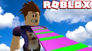 PLAYING MY OWN ROBLOX OBBY!