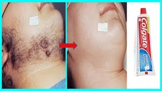 In Just 5 Minutes, Remove Unwanted Hair Permanently // The Hair will NEVER Grow Back